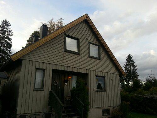 Nye vindskier på tak