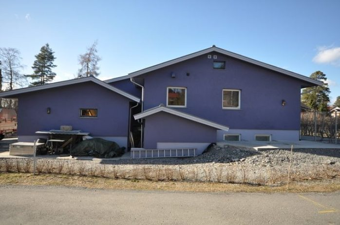 Ferdig omlegging av tak