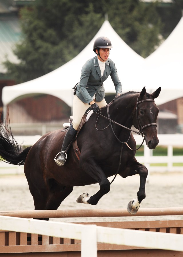 Hunter Over Fences horse training