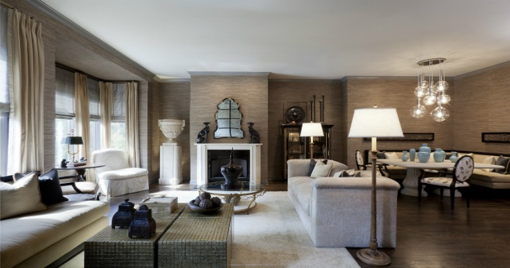 The Importance of Materials  Scale  Color  and Texture   Hyman Interiors Chicago s Interior Designer Anthony Michael