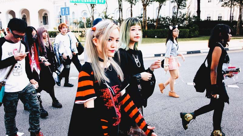 Harajuku Fashion Walk Singapore  Strut Around Town In Your Best     Get your creative juices flowing by planning innovative outfits now and  you ll be all set to make the streets of Singapore your runway