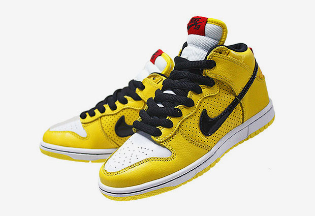 nike sb dunk high black yellow Nike SB Dunk High Black/Yellow