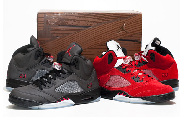 air jordan 5 toro bravo pack closer look 1 Air Jordan 5 Toro Bravo Pack   A Closer Look