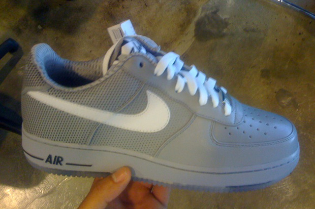 futura nike air force one preview 2 Futura x Nike Air Force 1 2010 Spring Collection