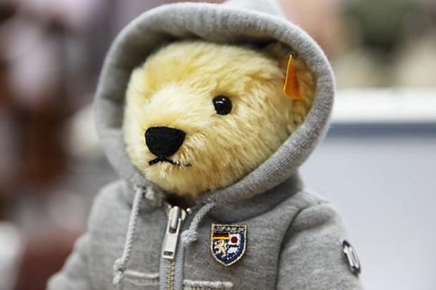 loopwheeler steiff hoody 1 Loopwheeler Hoody for Steiff Teddy Bear
