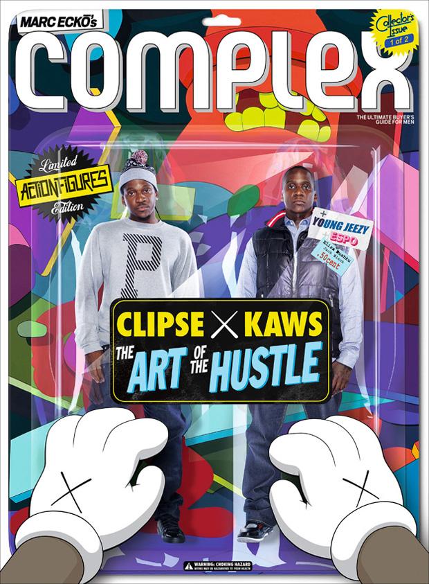 kaws clipse album cover 2 Complex Magazine: Clipse x KAWS 2009 October/November Issue