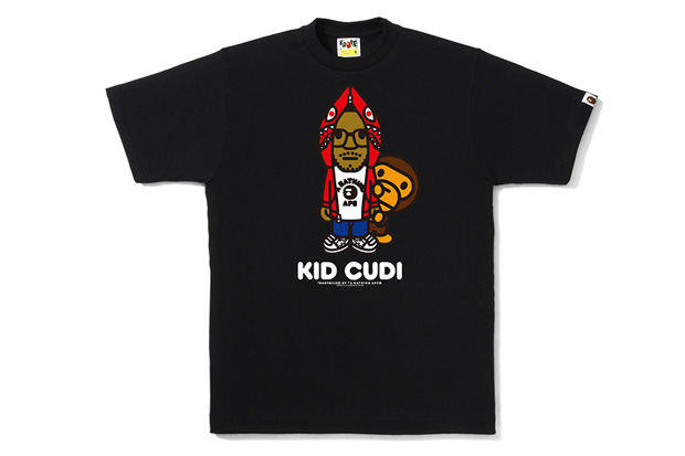 kid cudi bape bathing ape tshirt Kid Cudi x A Bathing Ape Tee