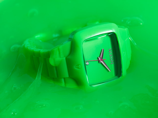 nixon fluro player green 1 Nixon The Fluro Player Watch