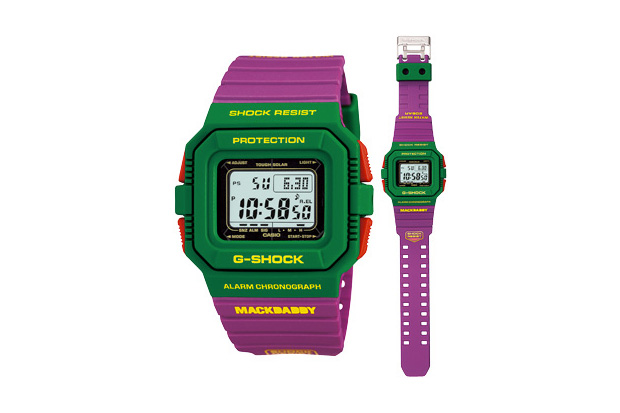 mackdaddy casio gshock watch MACKDADDY x CASIO G SHOCK G 5500MD 3JR