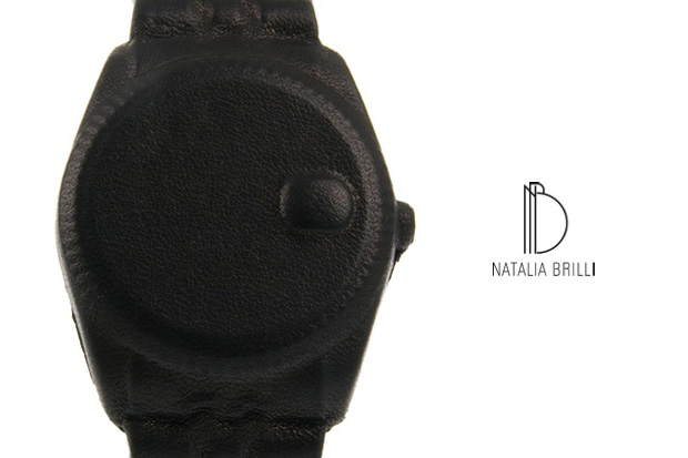 natalia brilli leather watch bracelet 1 Natalia Brilli Leather Watch Bracelet