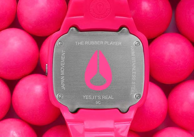 nixon pink fluro player 3 Nixon The Fluro Player Pink Watch