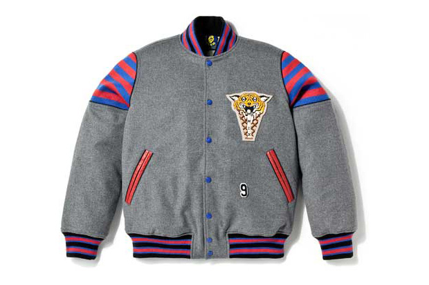 ice cream tiger varsity jacket ICE CREAM TIGER VARSITY JACKET