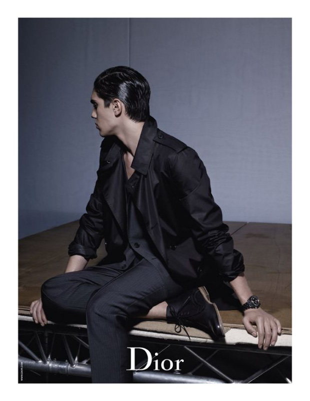 dior homme 2010 spring campaign karl lagerfeld 4 Dior Homme 2010 Spring Campaign by Karl Lagerfeld