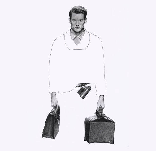 an illustrated look modern mens fashion richard kilroy 7 An Illustrated Look At Modern Mens Fashion by Richard Kilroy
