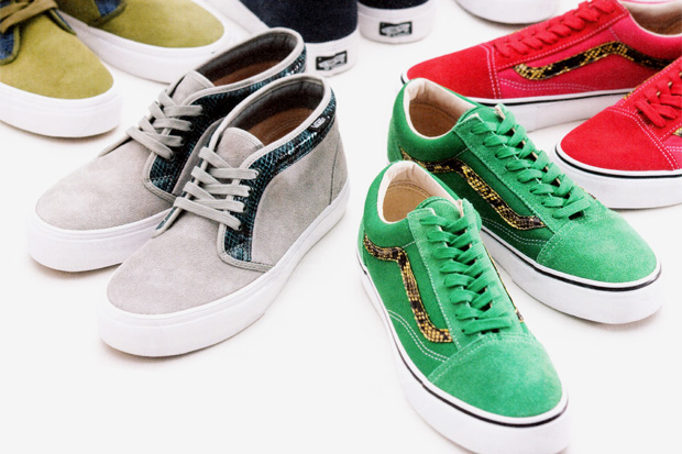 supreme vans 2010 spring collaboration 1 Supreme x Vans Chukka Boot and Old Skool Collection