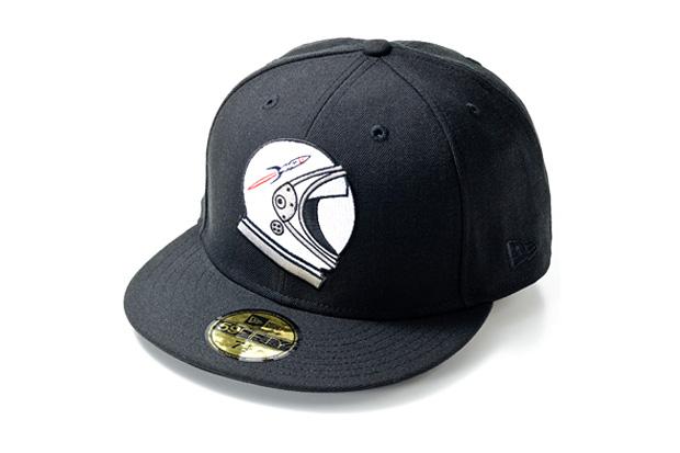 billionaire boys club new era rocket helmet fitted cap Billionaire Boys Club x New Era Rocket Helmet Fitted Cap