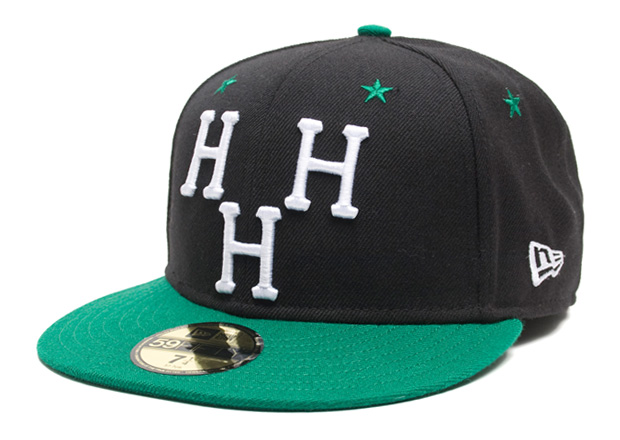 hall of fame huf hella fame fitted caps 2 Hall of Fame x HUF Hella Fame Fitted Caps