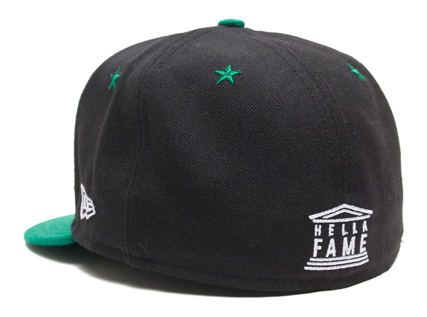 hall of fame huf hella fame fitted caps 4 Hall of Fame x HUF Hella Fame Fitted Caps
