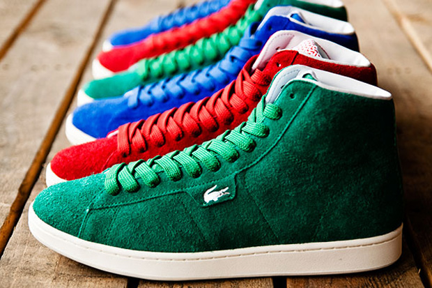 lacoste stealth broadwick hi rgb pack 1 Lacoste Stealth Broadwick Hi 'RGB' Pack