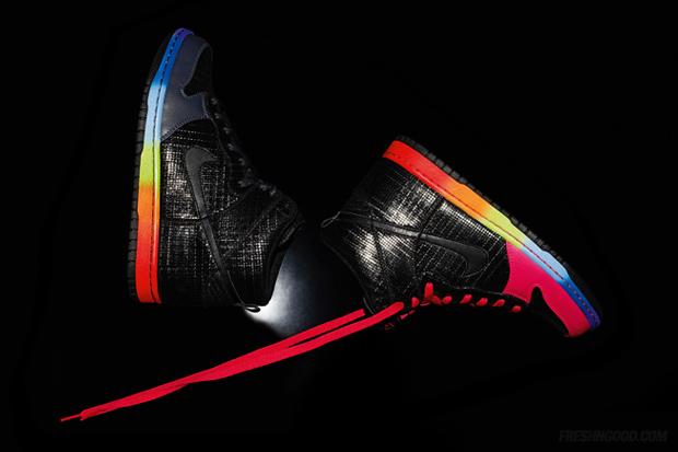 nike sportswear rainbow pack dunk hi premium 1 Nike Sportswear Rainbow Pack Dunk Hi Premium