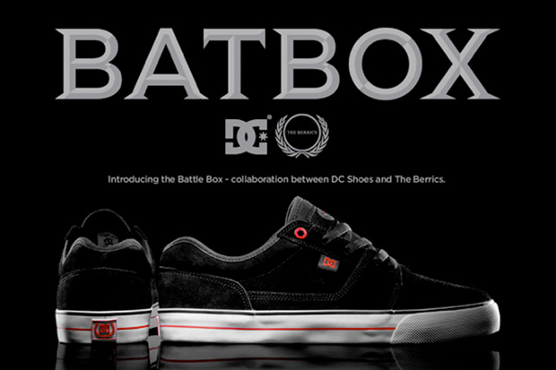 the berrics dc shoes battle box The Berrics x DC Shoes Battle Box