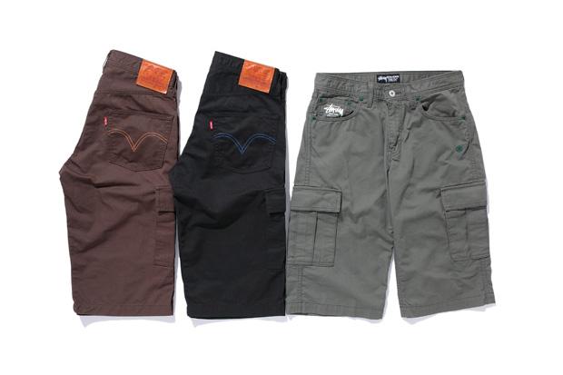 levis stussy denim shorts 1 Stussy x Levis Denim & Shorts