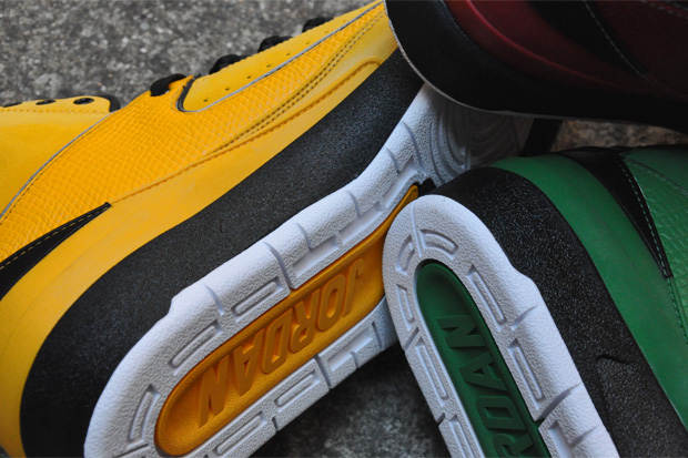air jordan ii rasta pack 4 Air Jordan II Retro Candy Pack