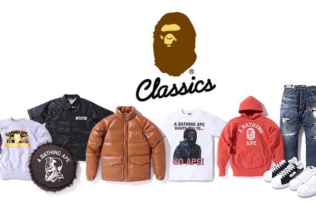 bathing ape classics collection 01 A Bathing Ape Classics Collection