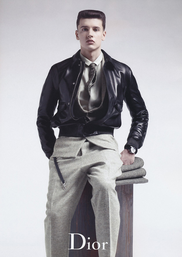 dior homme 2010 fallwinter campaign 1 Dior Homme 2010 Fall/Winter Campaign