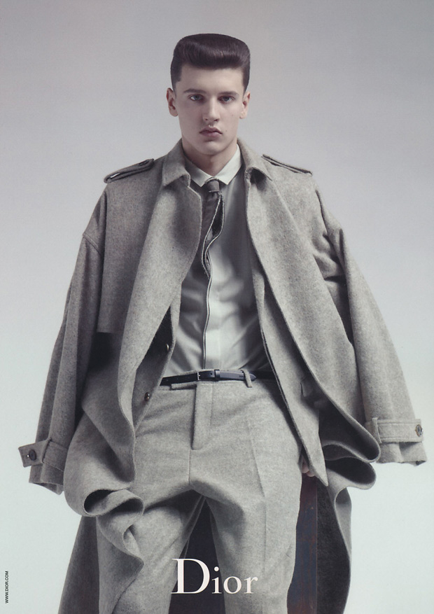 dior homme 2010 fallwinter campaign 3 Dior Homme 2010 Fall/Winter Campaign