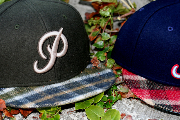 primitive new era melton fitteds 5 Primitive New Era Melton Plaid Fitteds