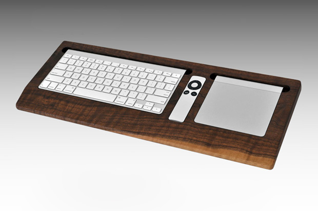 combine collective black walnut keyboard tray Combine Collective Black Walnut Keyboard Tray