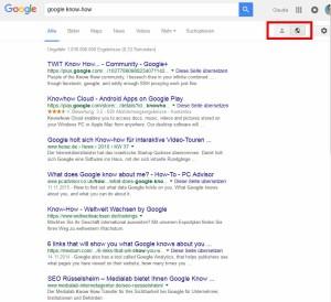 Google Know-How Status Öffentlich