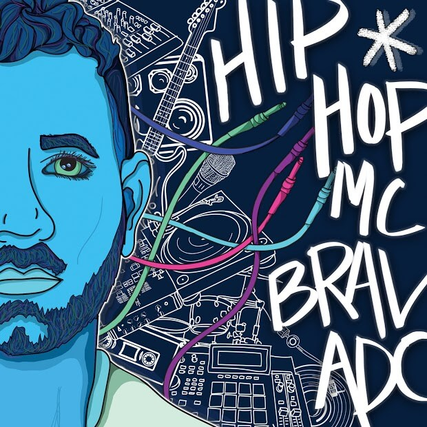 "MC Bravado Rounds Up A Few Classic Emcees For His Lead Dedication To ""Hip-Hop*"""
