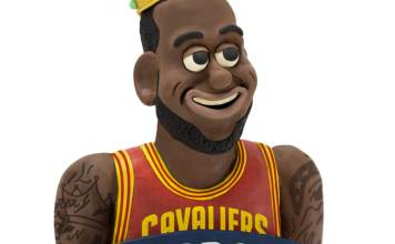 NBA Stars and Mascots Using Clay