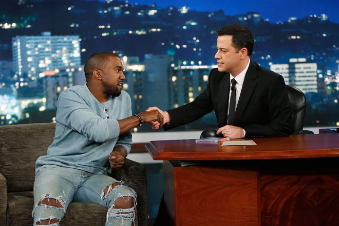 Kanye West Will Rejoin With Jimmy Kimmel