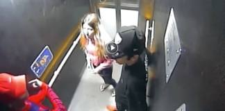 Woman attacked at train station