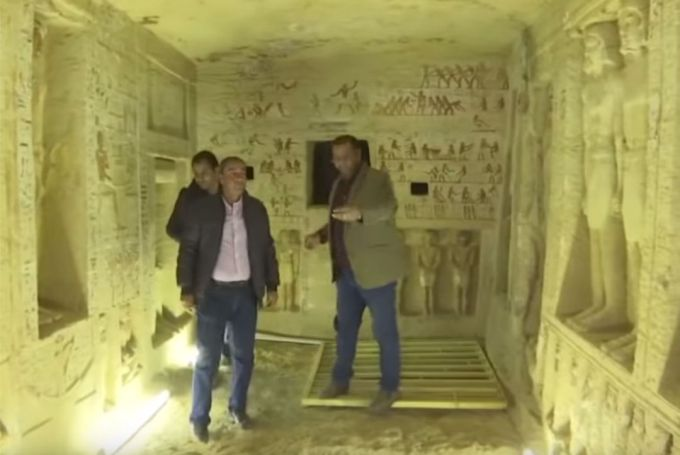 Egypt Discovers Untouched Tomb in Mint Condition After 4,100 Years!