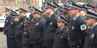Police officers in Chicago on Trial
