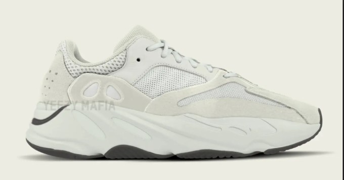 Yeezy Boost 700 Salt Colorway In Motion For Spring 2019