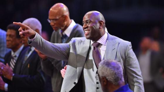 Magic Johnson The Lakers