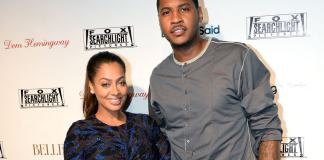 La La Carmelo La La Anthony Still Praises Disgusting Cheating Husband Carmelo Anthony