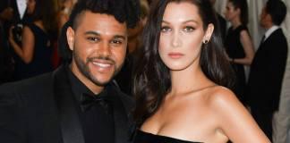 Bella Hadid And The Weeknd Call