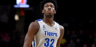 NCAA Disciplines James Wiseman