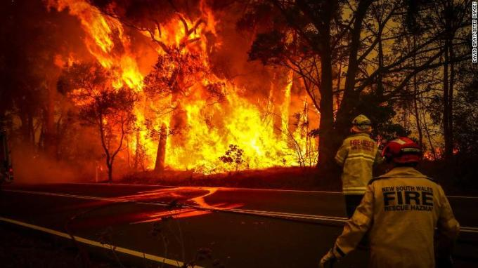 Fires Continue To Rage Throughout Australia
