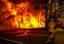fires that continue to rage throughout Australia