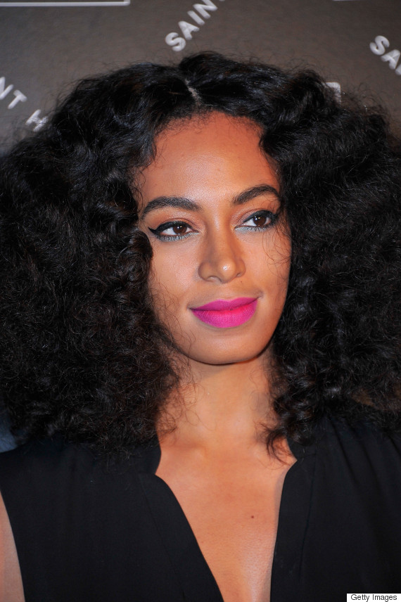 Solange Knowles at the Eleven Paris Presentation and Cocktail as part of Paris Fashion Week Womenswear Fall/Winter 2015/2016