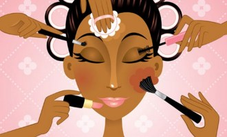makeup black woman