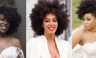 Natural Hair brides