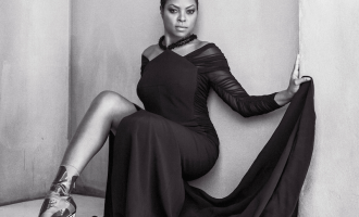 Taraji P Henson X CR Fashion Book
